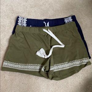 SET NWOT Sonoma sleep shorts size S